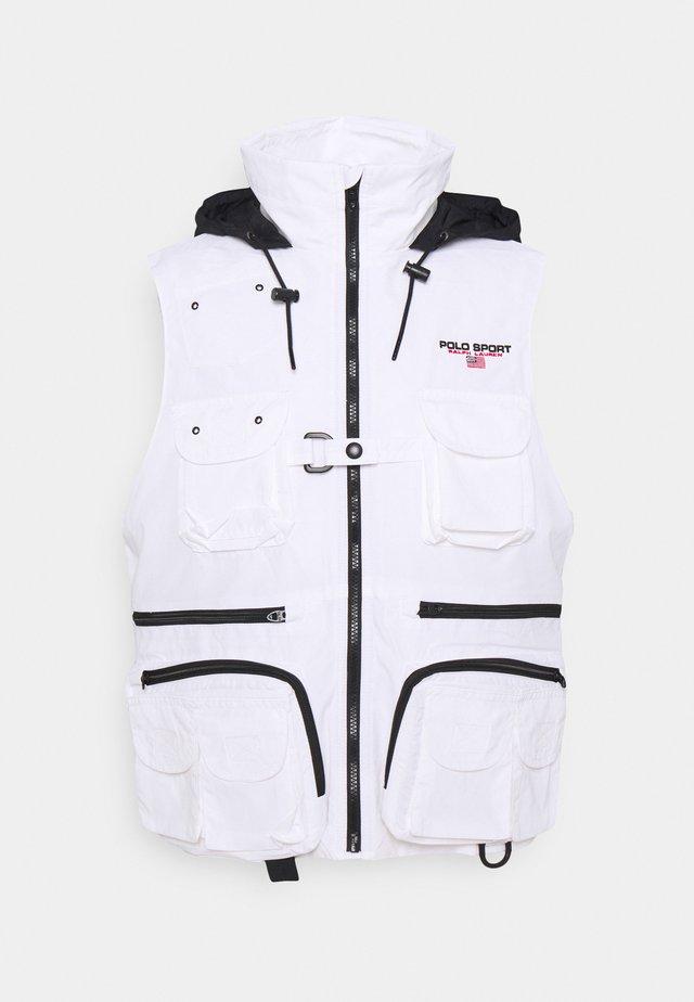 HI TECH VEST - Veste sans manches - white/polo black