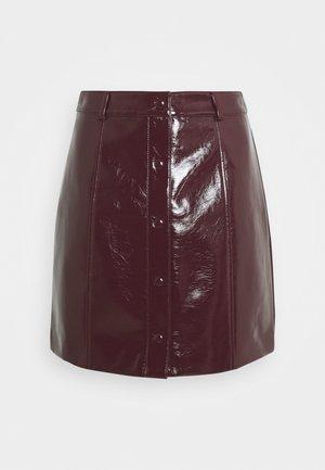 LADIES SKIRT - Mini skirt - burgundy