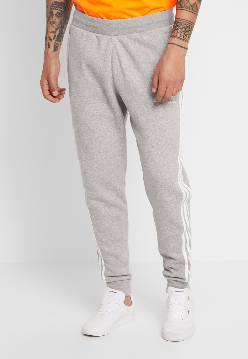 adidas Originals - STRIPES PANT UNISEX - Teplákové kalhoty -  grey heather