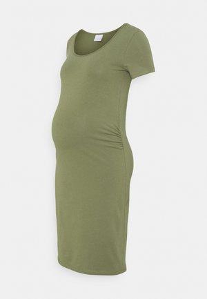 MLLEA DRESS - Jerseykjoler - olivine