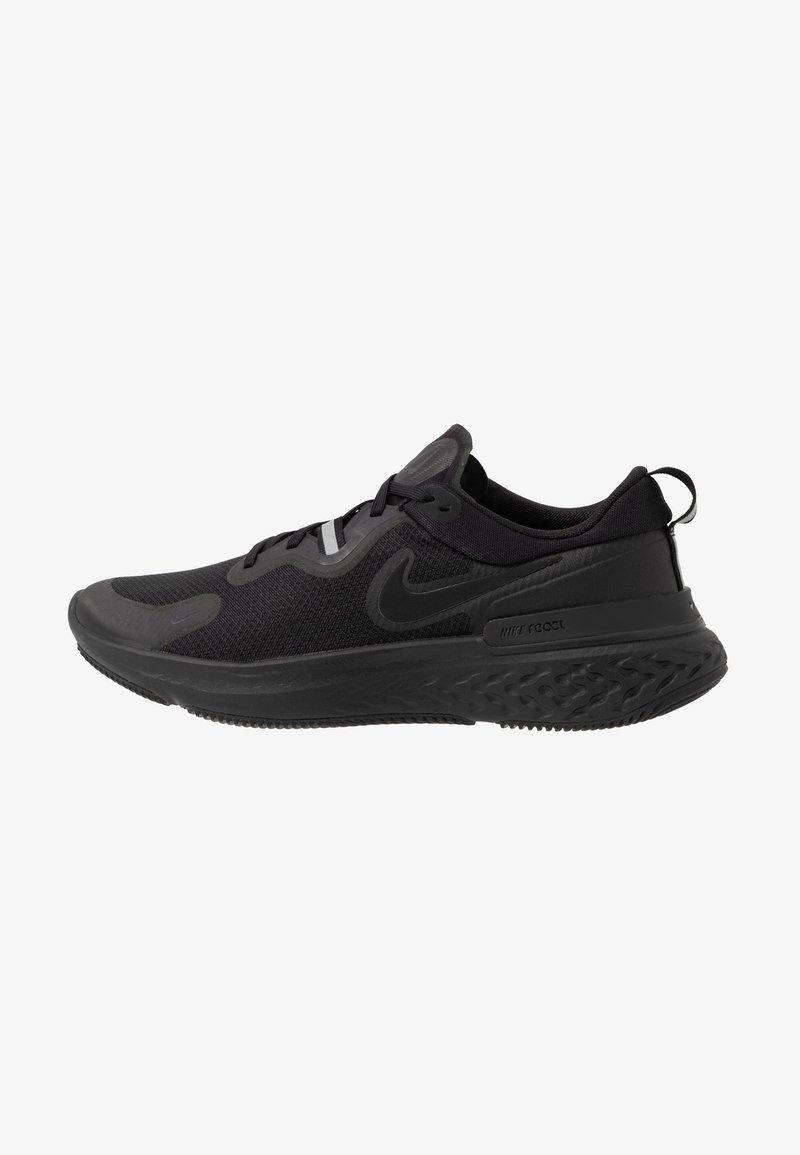 Nike Performance - REACT MILER - Neutral running shoes - black