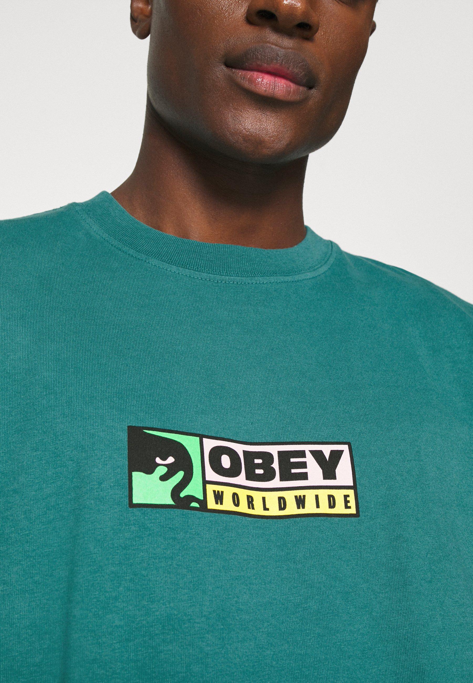 Obey Heren t shirt kopen? | BESLIST.nl | Sale online