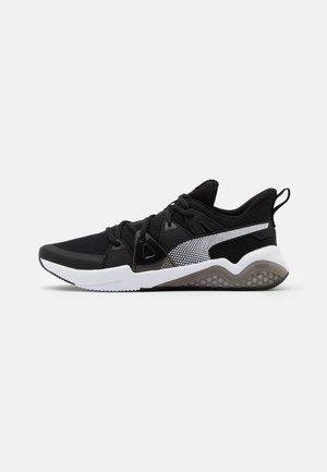 CELL FRACTION - Neutral running shoes - black/white/castlerock
