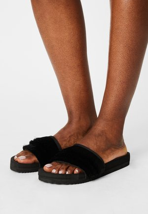 POOL HULA - Mules - black