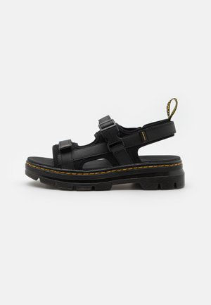 FORSTER UNISREX - Walking sandals - black