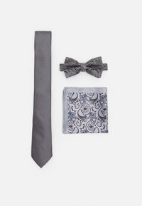 Burton Menswear London - SET - Tie - grey - 0