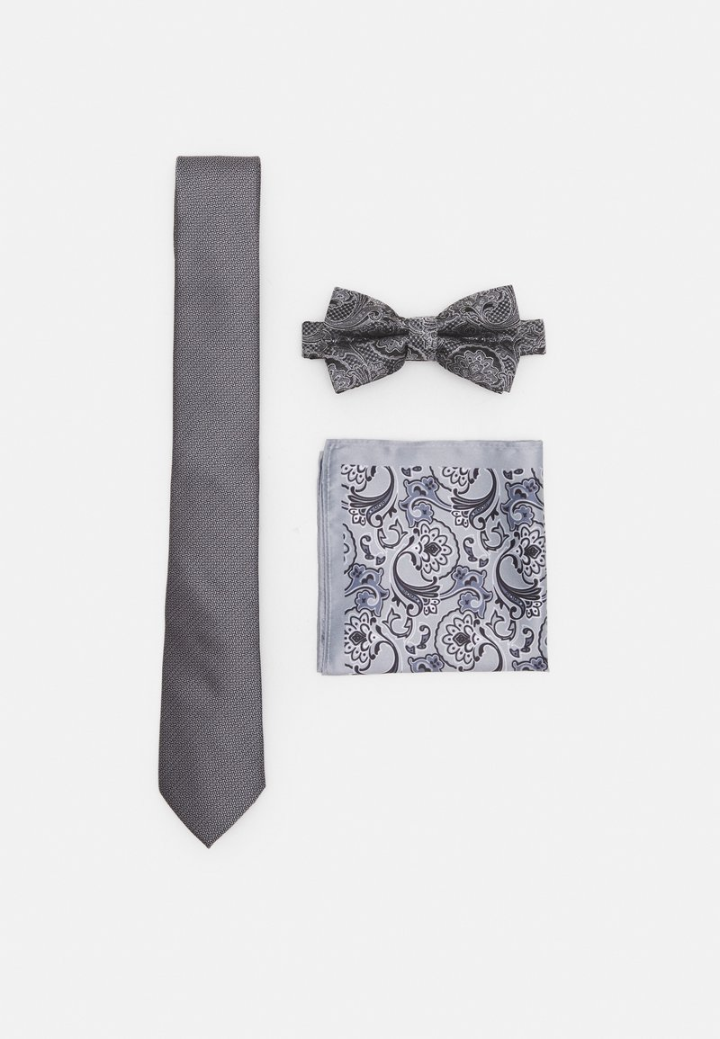Burton Menswear London - SET - Tie - grey