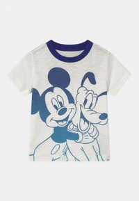 GAP - TODDLER BOY MICKEY MOUSE - Print T-shirt - new off white - 0