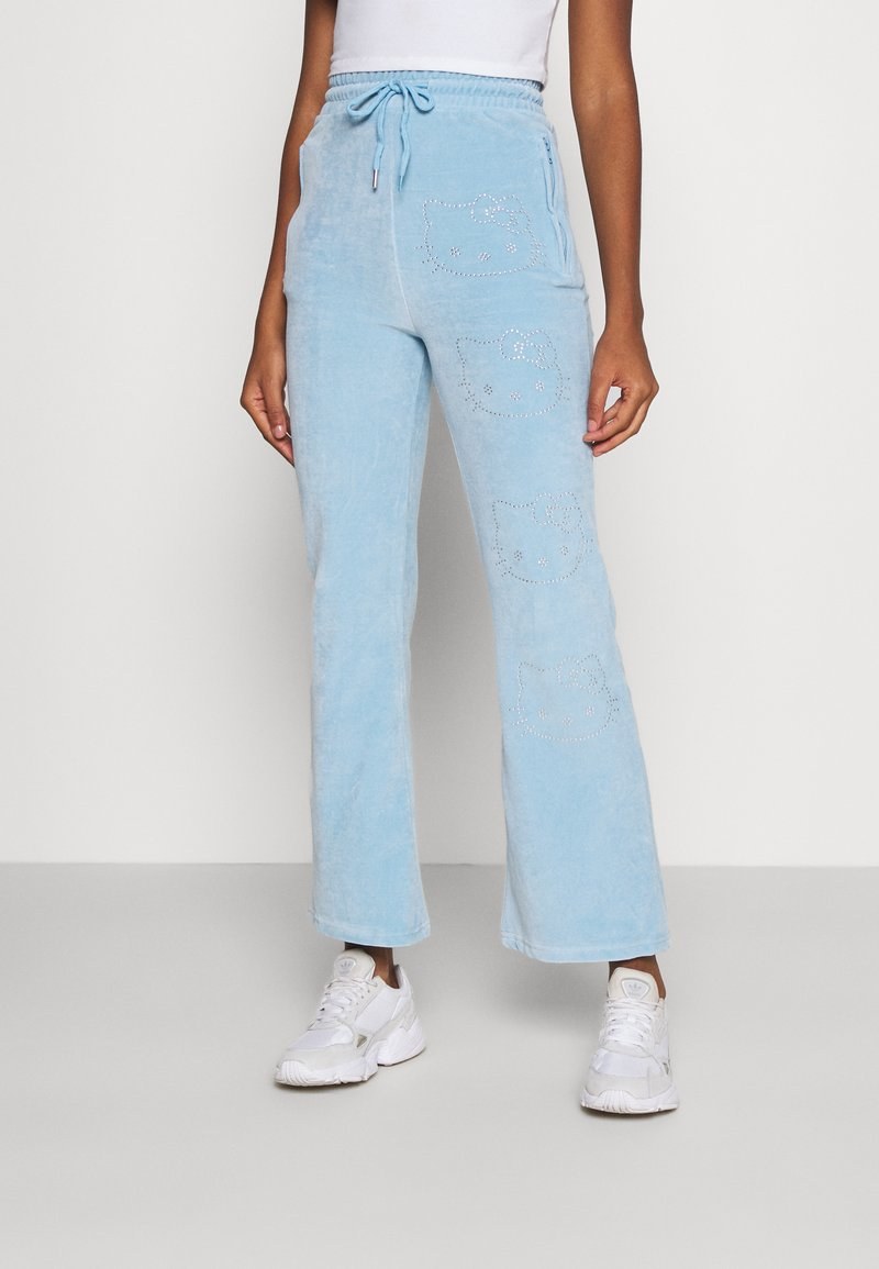 NEW girl ORDER - JOGGERS - Tracksuit bottoms - blue