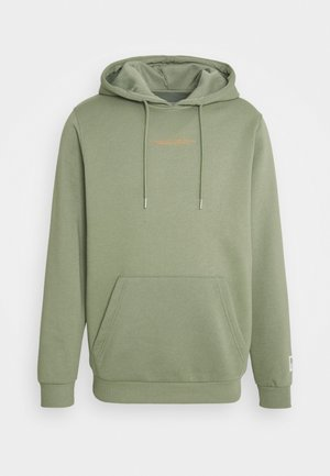 JCOUTILITY HOOD - Sweatshirt - oil green