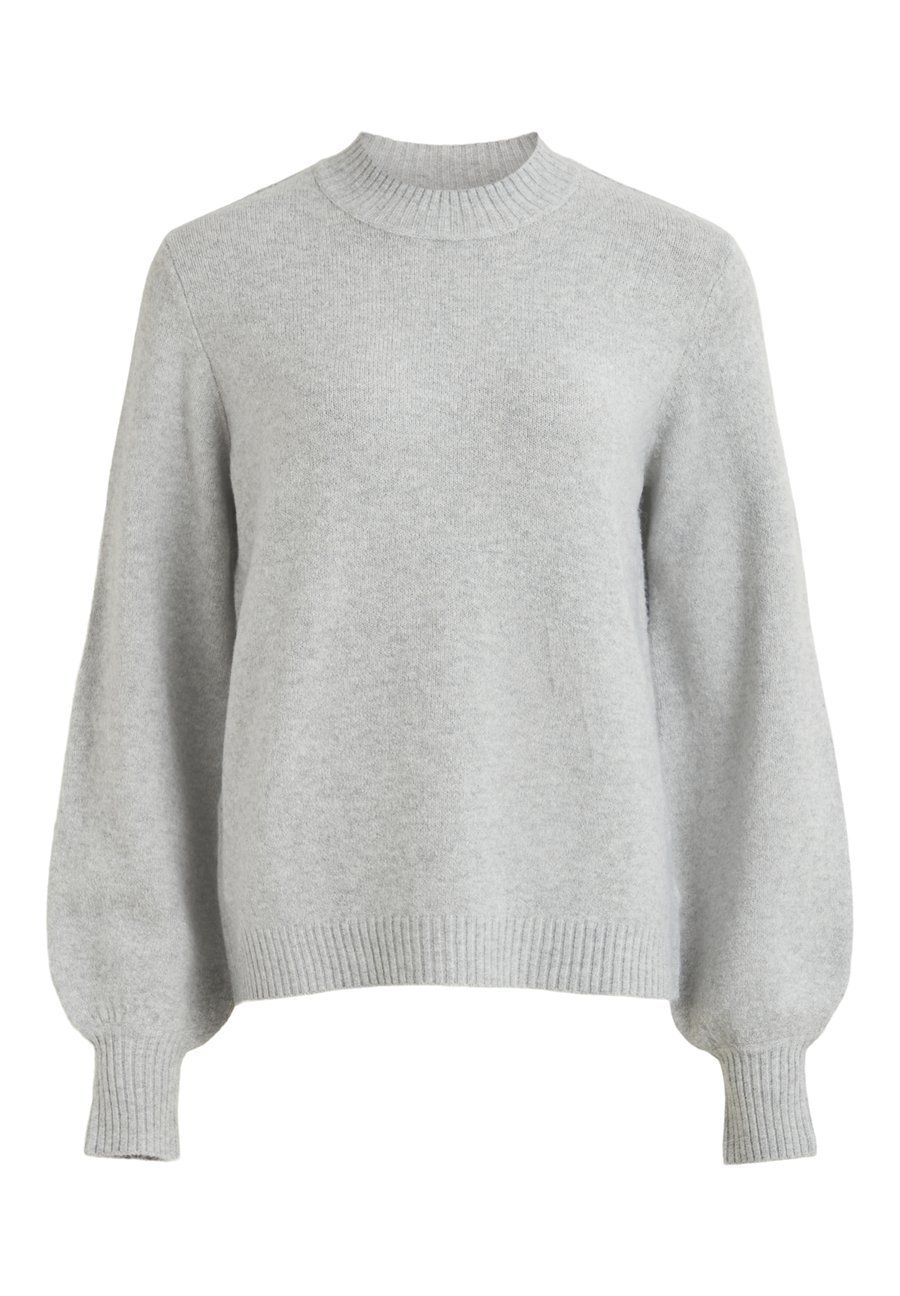 Vila Trui light grey melange Zalando.nl