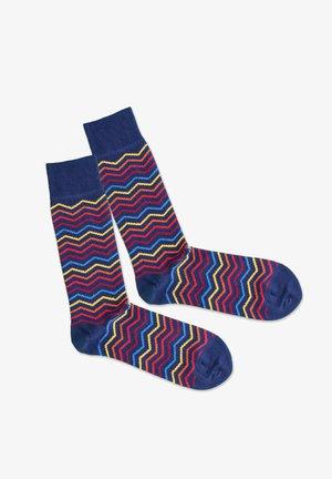 SQUARE CONTRAST - Socks - multicolor