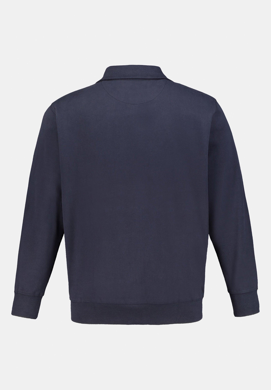 JP1880 veste en sweat zippée - navy
