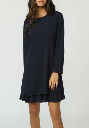 MARINO - Vestito di maglina - blue