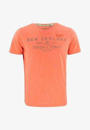 LEESTON - Print T-shirt - orange pepper