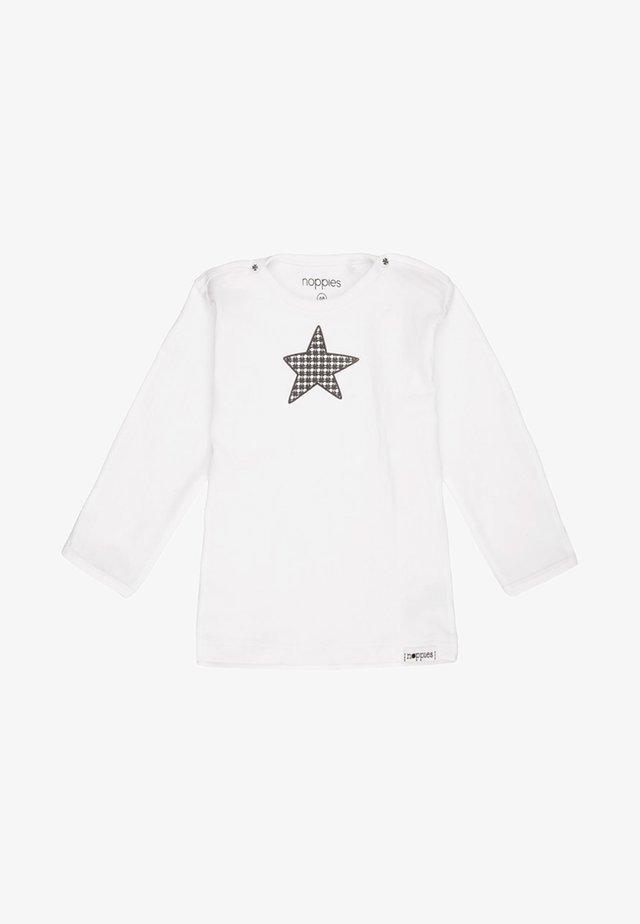 MELANIE - Long sleeved top - white