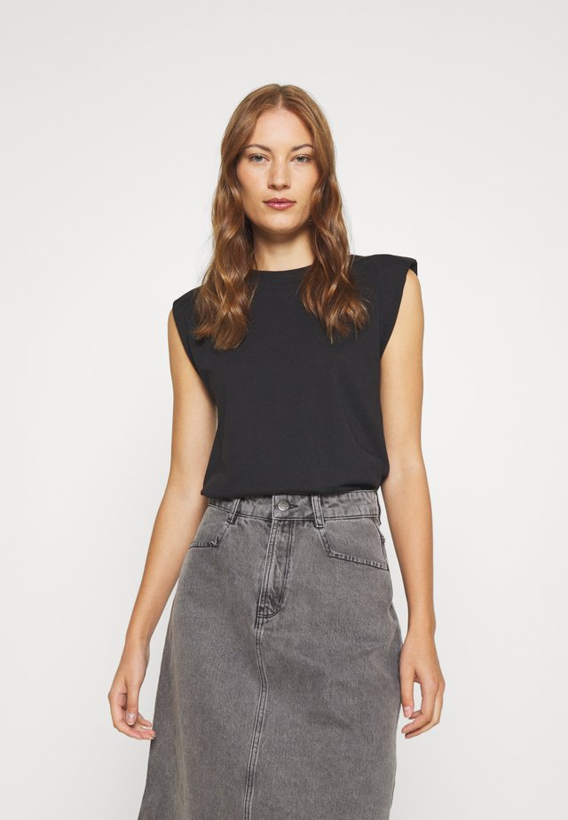 SKIRT - A-line skirt - grey wash