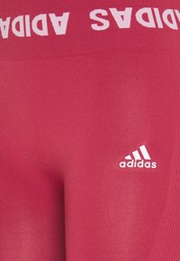 adidas Performance - AEROKNIT 7/8 T TRAINING WORKOUT DESIGNED4TRAINING PRIMEGREEN LEGGINGS FITTED - Tights - berry - 6