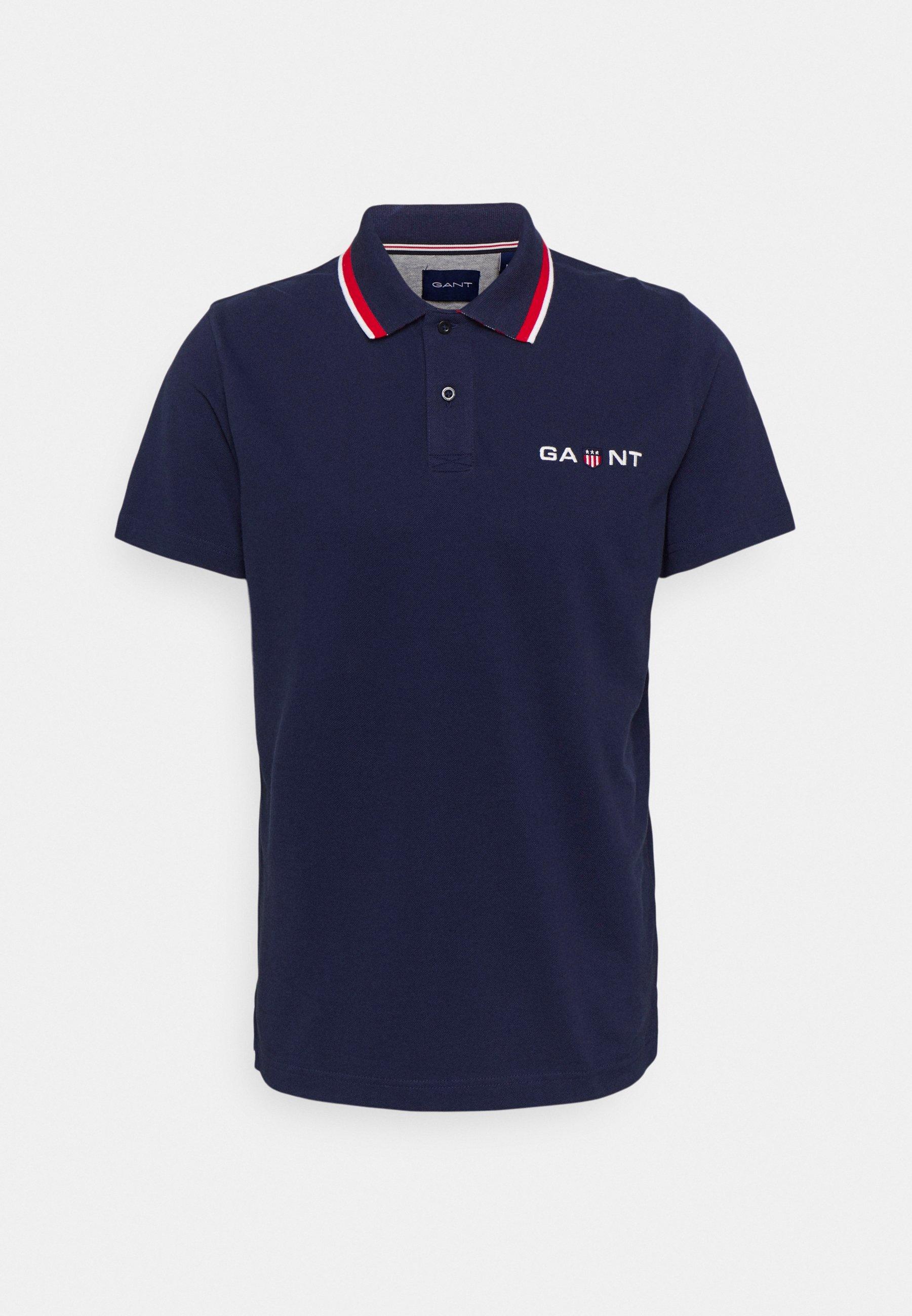 Men RETRO SHIELD RUGGER - Polo shirt