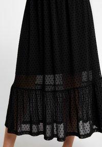 Love Copenhagen - FREYALC DOTS DRESS - Day dress - pitch black - 5