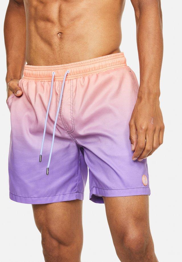 SALOMON - Shorts da mare - orange-violett