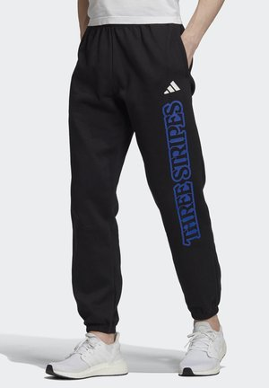 STRIPES GRAPHIC JOGGERS - Pantaloni sportivi - black