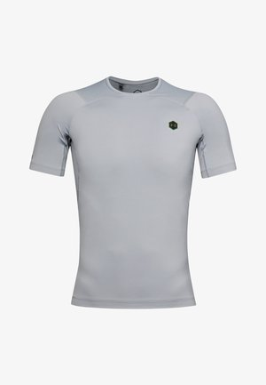 UA RUSH HG COMPRESSION SS - Basic T-shirt - mod gray