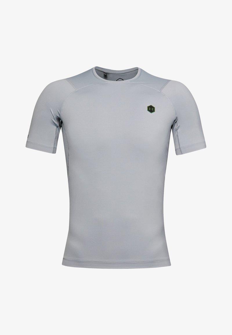 Under Armour - UA RUSH HG COMPRESSION SS - Basic T-shirt - mod gray