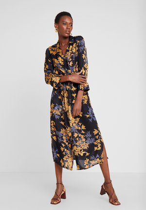 KAMILANA DRESS - Shirt dress - black deep