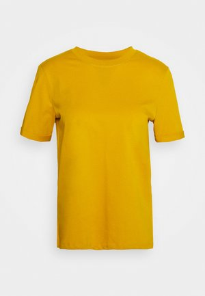 PCRIA FOLD UP TEE - T-shirts - nugget gold