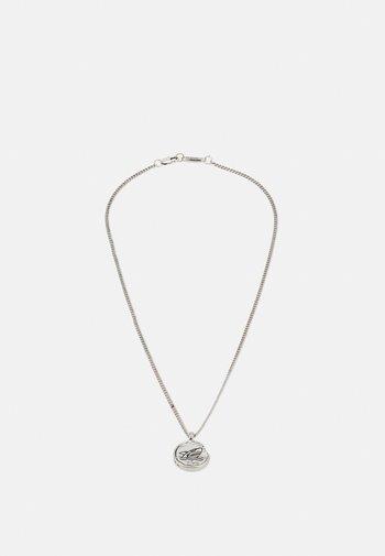 BEACH DAYS SHARK BITE NECKLACE - Necklace - silver-coloured