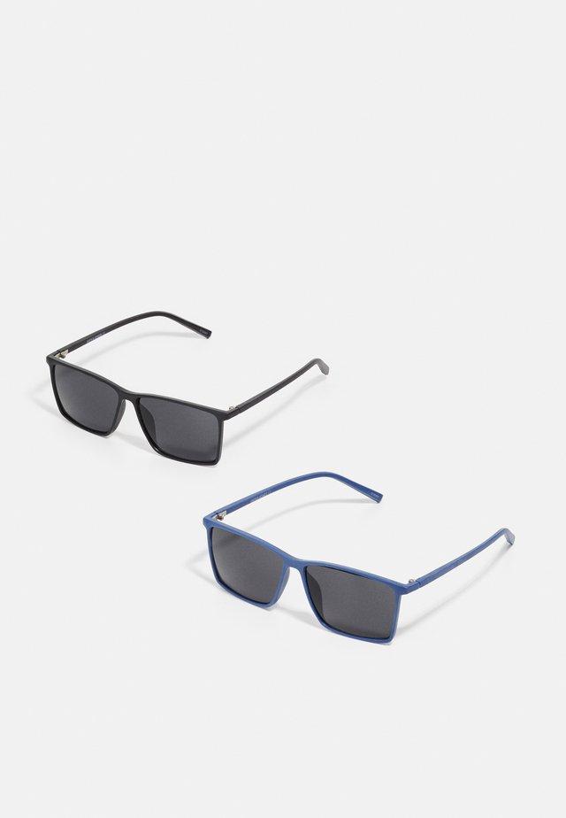 JACRECT SUNGLASSES 2 PACK  - Okulary przeciwsłoneczne - black/navy