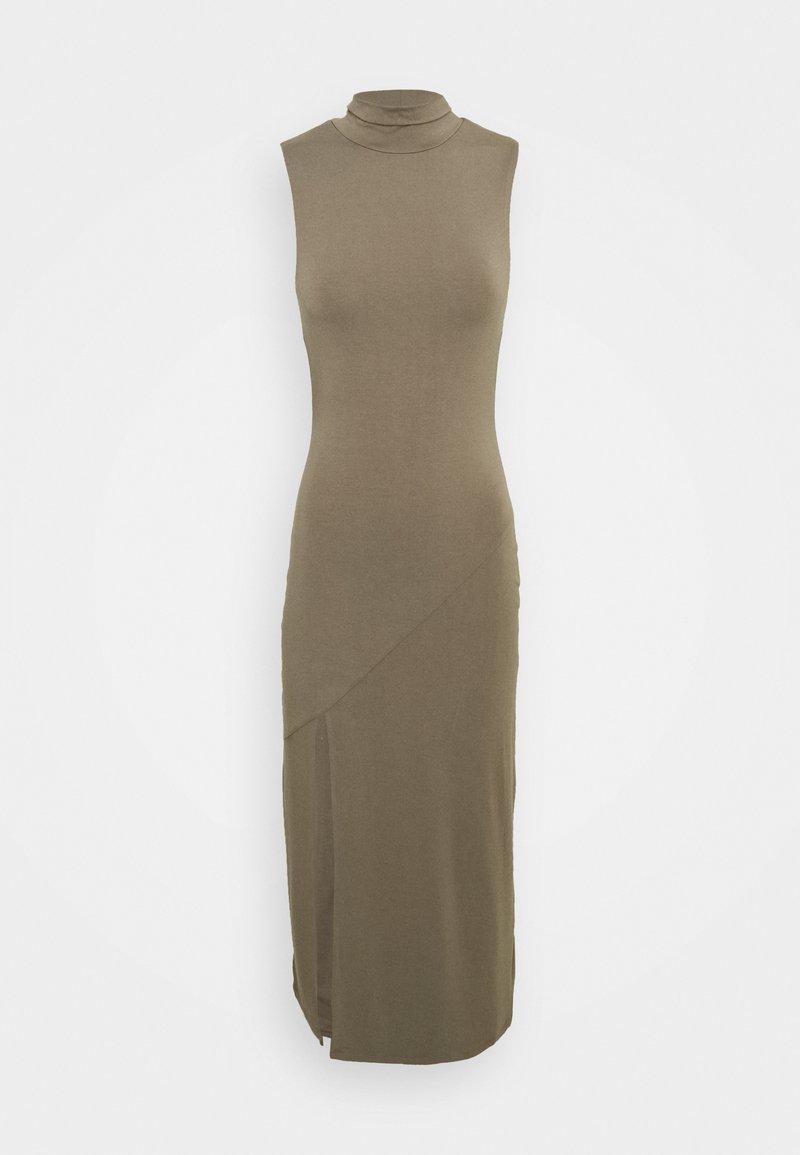 Good American - MOCK NECK MIDI DRESS - Cocktail dress / Party dress - brindle