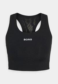 SOLID SHELBY MEDIUM - Sports bra - black beauty