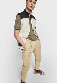 Redefined Rebel - MILTON - Cargo trousers - starfish - 3
