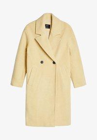 Bershka - Zimní kabát - yellow - 4