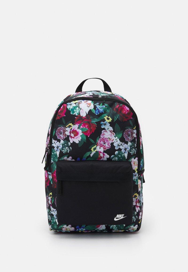 Nike Sportswear - HERITAGE UNISEX - Mochila - black/sail
