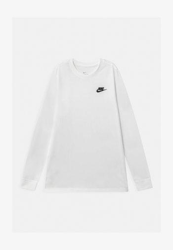 FUTURA - Camiseta de manga larga - white/black