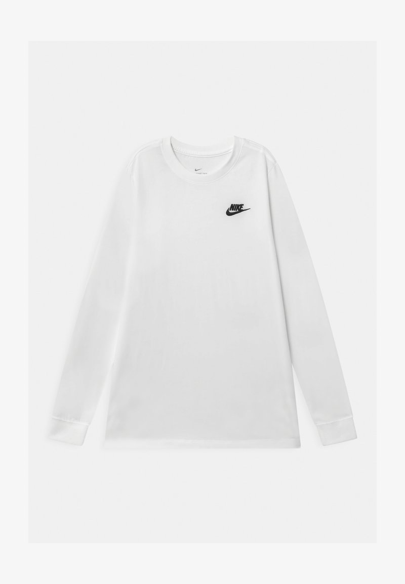 Nike Sportswear - FUTURA UNISEX - Camiseta de manga larga - white/black