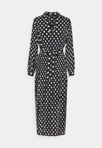 Selected Femme - SLFLADY POPPY MIDI DRESS - Robe d'été - black/white - 0