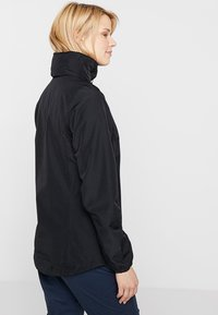 Jack Wolfskin - STORMY POINT JACKET  - Kurtka Outdoor - black - 3