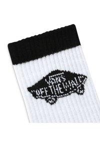 Vans - MN VANS ART HALF CREW (6.5-9, 1PK) - Socks - white/black - 1