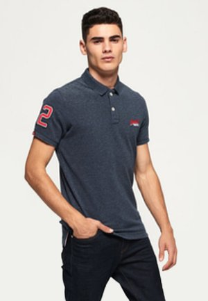 Poloshirt - creek navy grindle