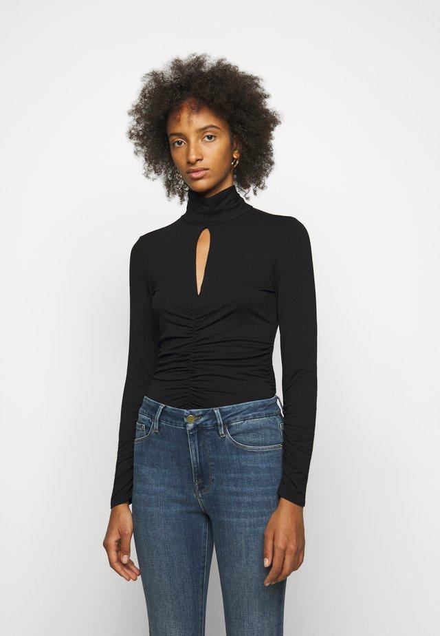 FELICITY - T-shirt à manches longues - noir