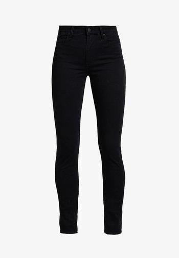 721 HIGH RISE SKINNY LONG SHOT - Jeans slim fit - black