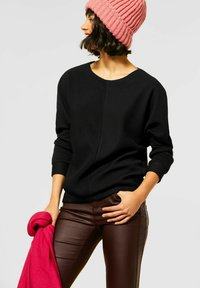 Street One - Long sleeved top - schwarz - 0