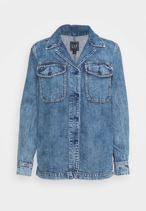 JACKET HOXIE - Denim jacket - medium indigo