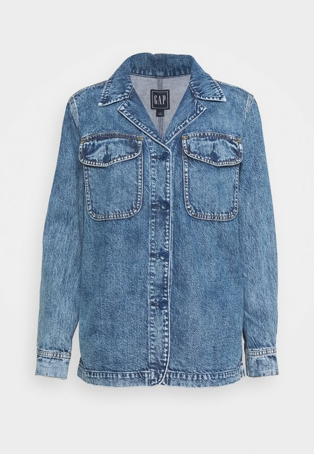 JACKET HOXIE - Jeansjakke - medium indigo