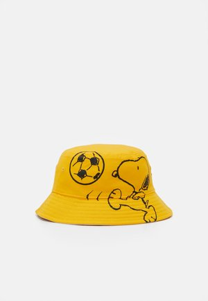 REVERSIBLE SNOOPY SPORT BUCKET HAT UNISEX - Hatt - regular yellow