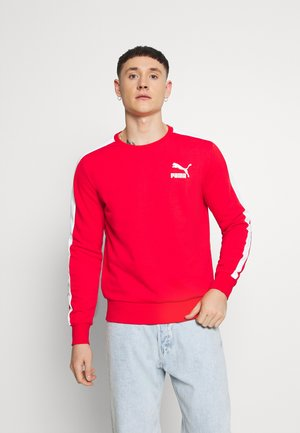 ICONIC CREW - Sweatshirt - high risk red
